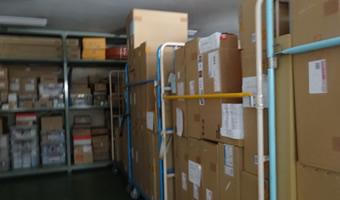 住宅環境設備の倉庫画像